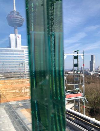 VSG Balkonverglasung Bürogebäude in Köln